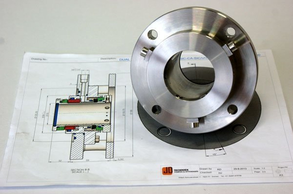 Mechanical seal revisie